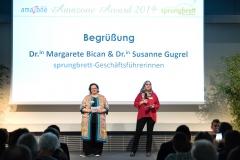 Susanne Gugrel und Margarete Bican