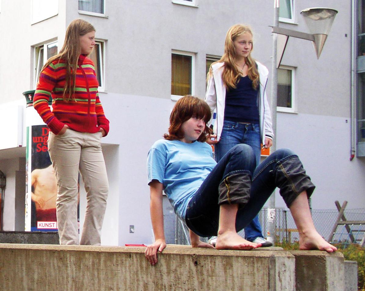 Mädchen finden ihren Weg