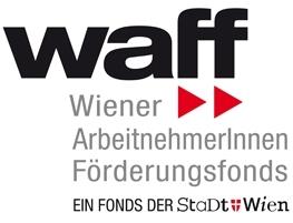 Logo des Winer ArbeitnehmerInnenförderungsfonds (waff)