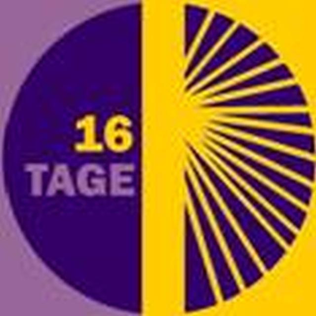 Logo 16 tage gegen Gewalt an Frauen