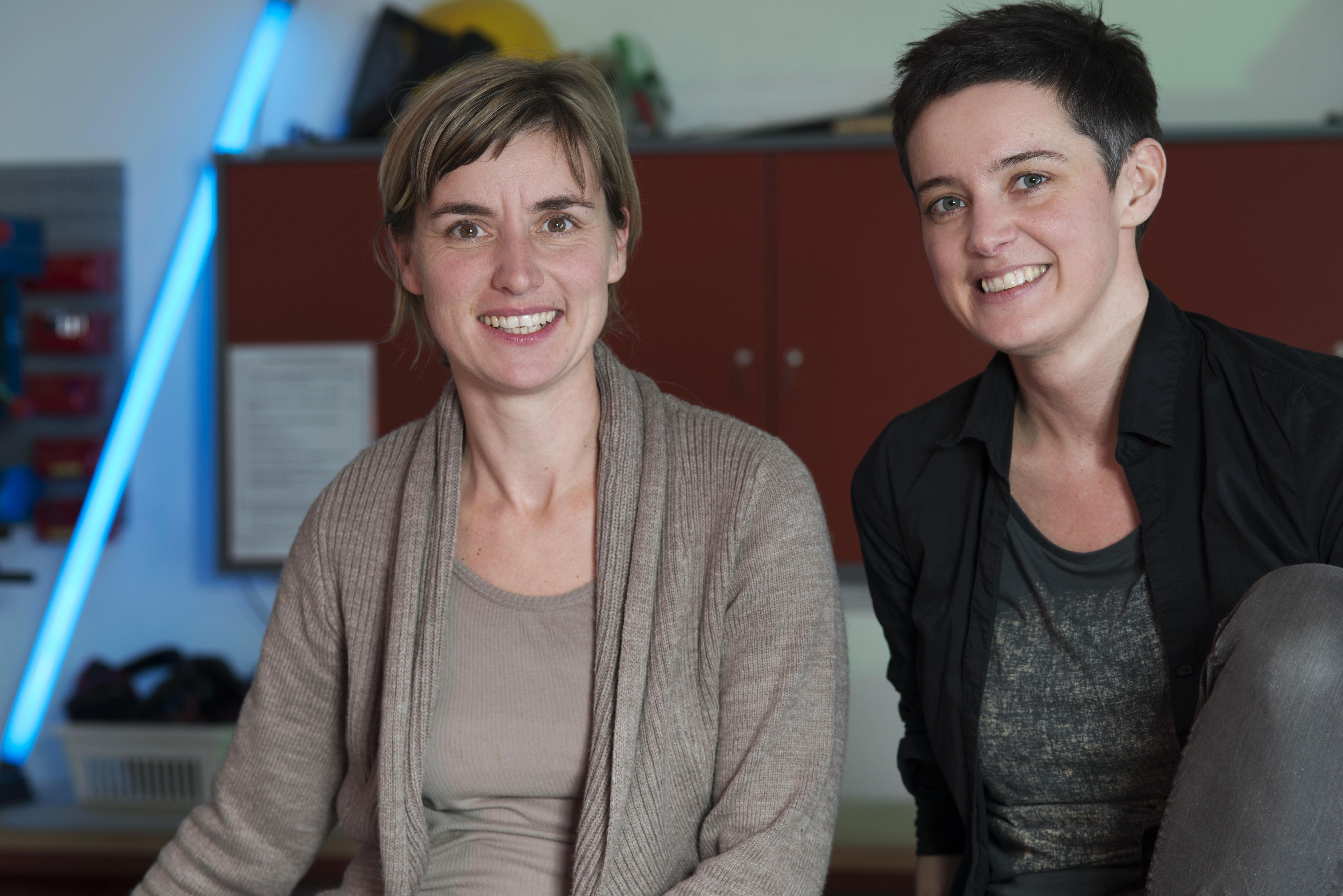 Elisa Kahlhammer & Bettina Scheuch, go.on Projektleitungsteam